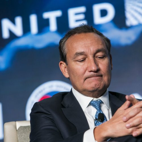 United Airlines CEO calls dragged passenger 'disruptive and belligerent'