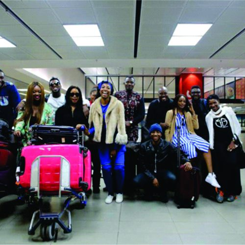 Explore South Africa With Some of Africa's Super Stars From Ghana And Nigeria