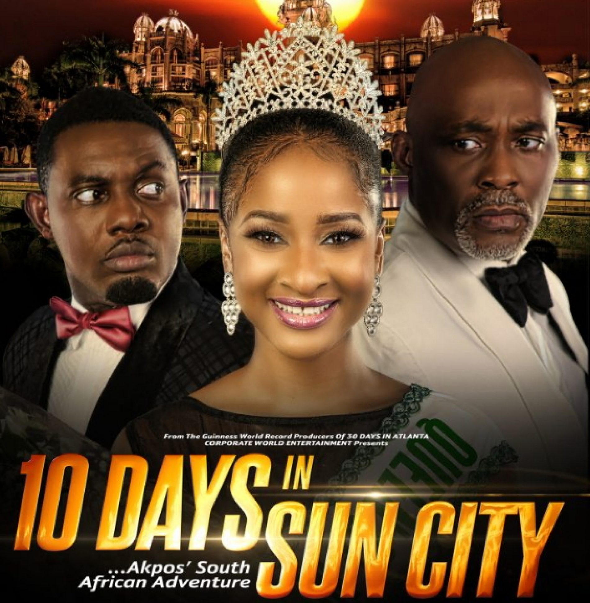 10 Days in Sun City premieres in South Africa