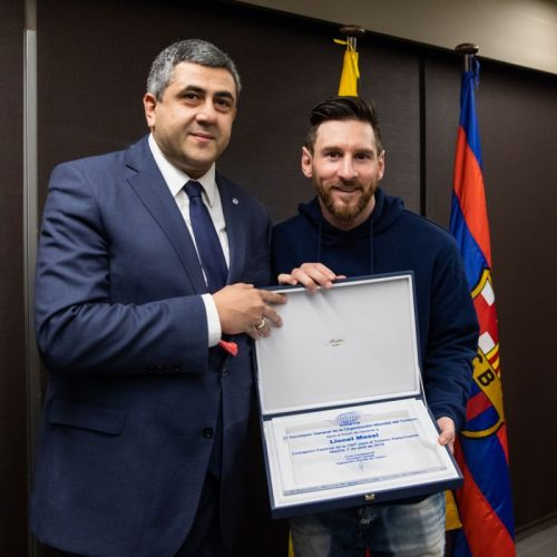 UNWTO Appoints Footballer Messi as Ambassador for Responsible Tourism