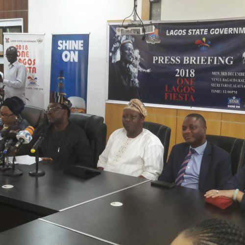 2018 ONE LAGOS FIESTA press brief- Lagos State Government