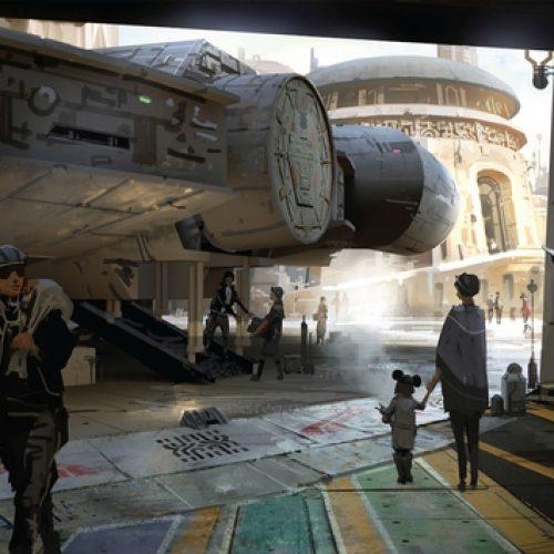 Disney Releases Star Wars: Galaxy's Edge Teaser