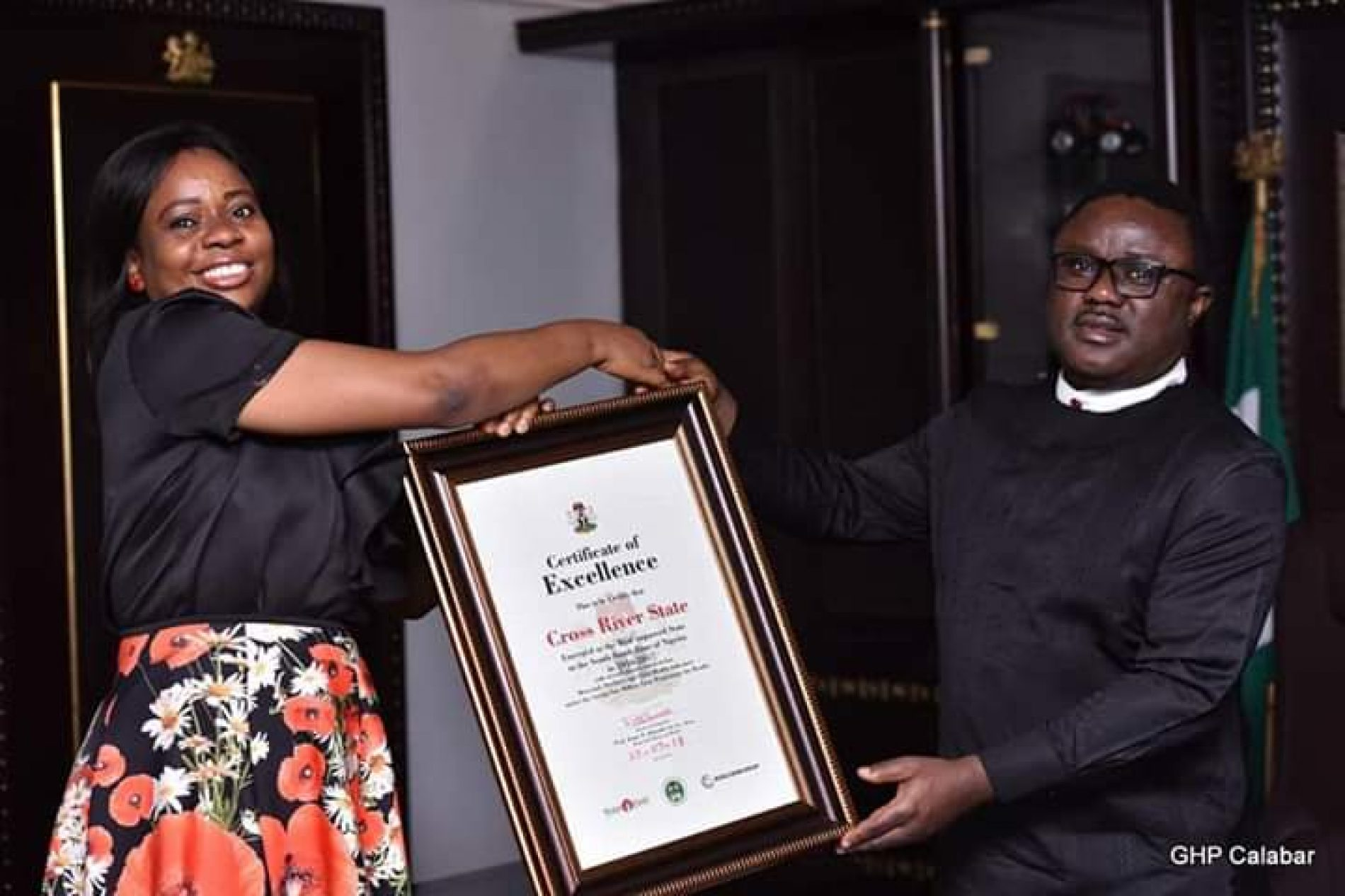 Cross River State Commissioner for Health, Dr (Mrs) Inyang Asibong, gives back to society