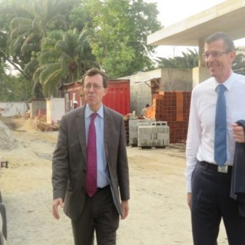 France Ambassador to Nigeria lauds Micheal Adenuga's french cultural Center project