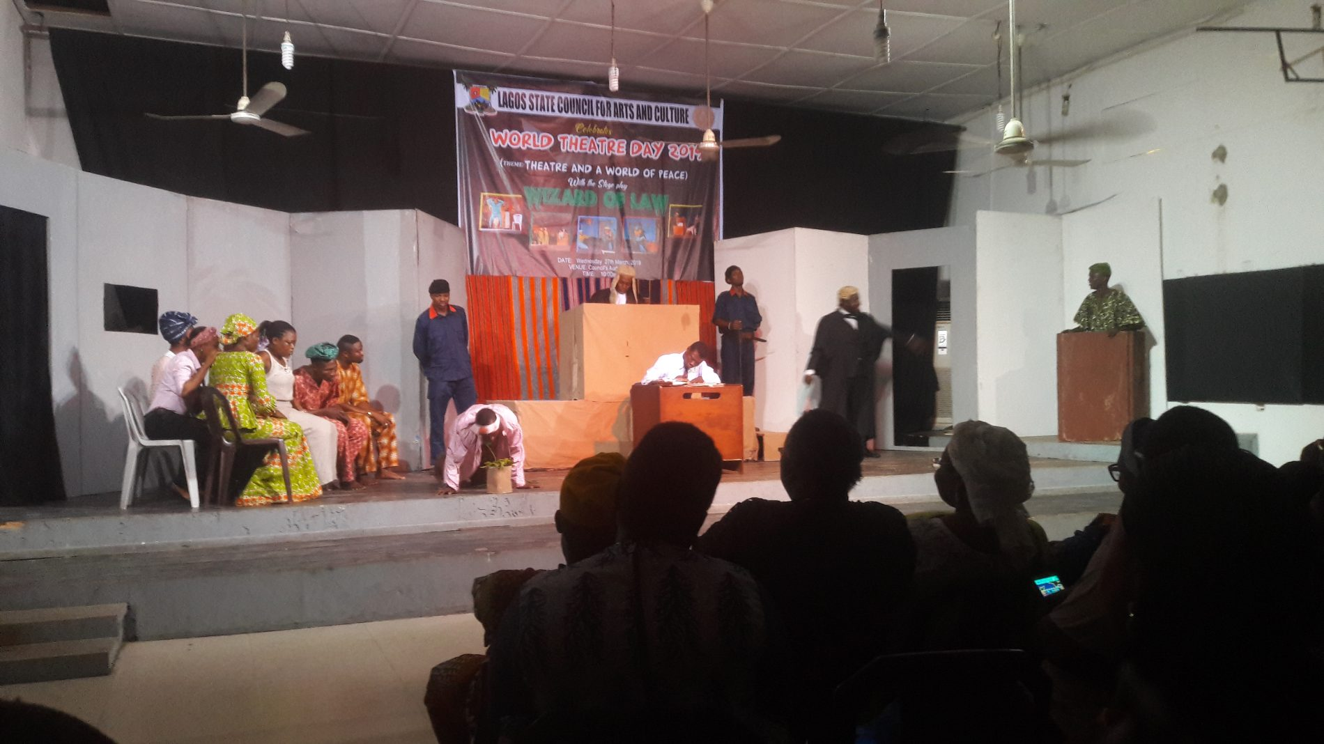 World Theatre Day Celebration; Lagos State government puts structures in place to provide more platforms for theatre Art practitioners to perform- Mrs Saidat Olaitan Otulana