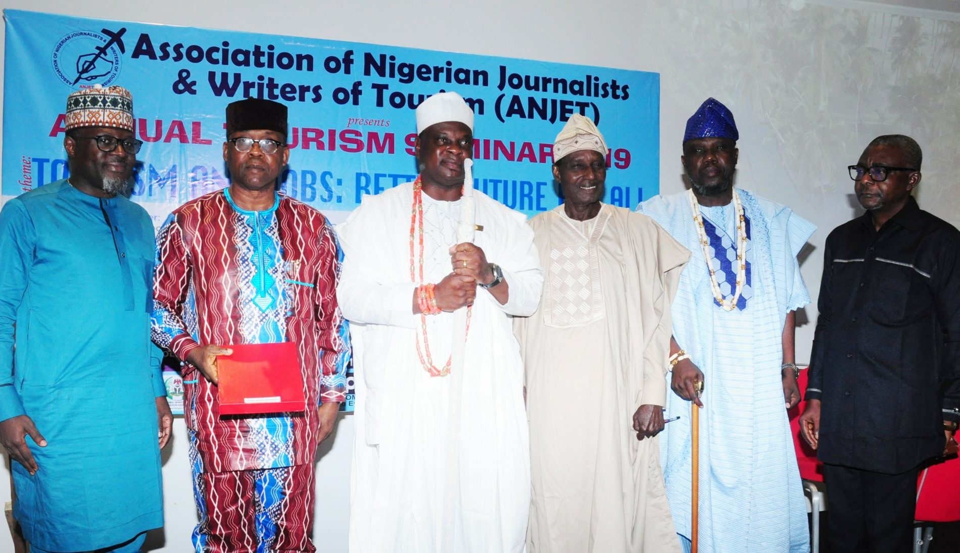 ANJET SEMINAR; Olota of Otta, Otunba Akinboboye, Olowo, others task Nigeria government on tourism