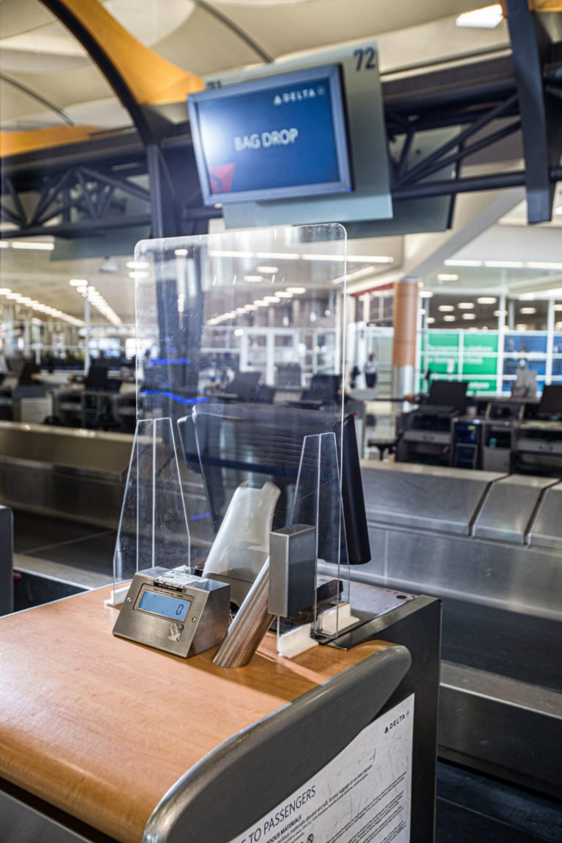 Delta introduces custom-designed airport lobby and gate safety barriers