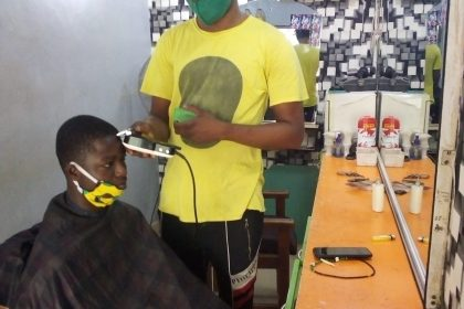 """Look Successfull at WEFAS BARBING SALOON- Looking good is good business"""""""