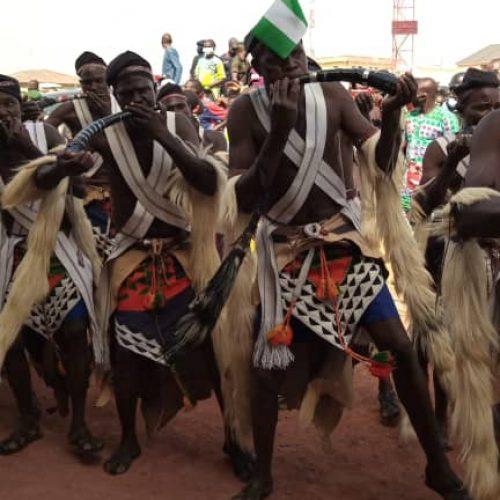 Celebrating Nigeria on the Plateau, Gov Lalong, Runsewe makes History.*